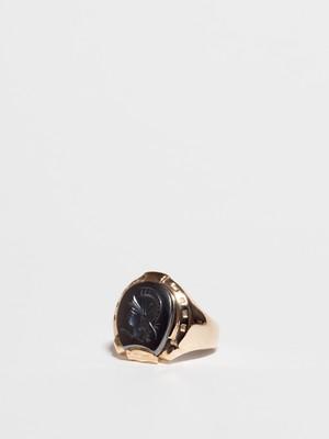Knight Intaglio Ring / America