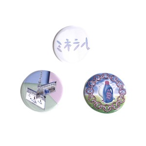 MINERAL OSAKA badges set