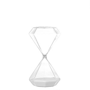 【GS555-389M】Diamond hourglass M #砂時計 #ガラス #シンプル #モダン