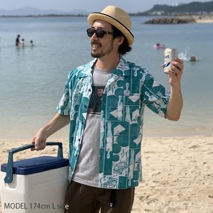 "Open Coller Shirt ""POOLSIDE""  6月末発送予定"