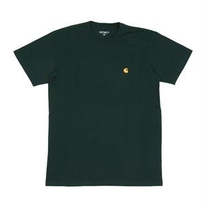 Carhartt/カーハート CHASE チェイス ロゴ刺繍 Tシャツ i026391