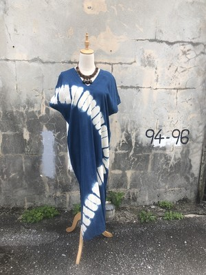 Indigo Shibori one piece