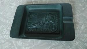 南部鉄器 灰皿 スペイン 1PTA切手