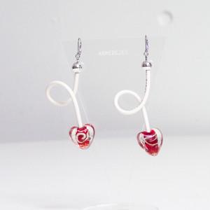 くねくねポップ Pierces / Earrings -ancient heart-