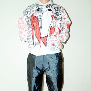 『VAVA DUDU』 1off hand painted jacket