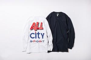 ALL CITY SPORT L/S TEE