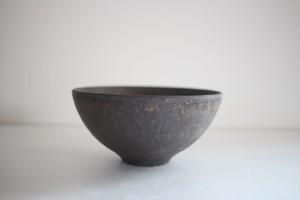 小林耶摩人|ボウルSS(4寸) 黒釉