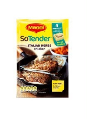[お徳用5袋入]So Tender Itslian harbs/ソーテンダー イタリアンハーブ味 5袋