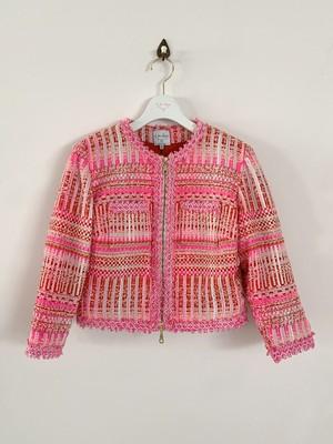 PINK ツイード・ショートジャケット