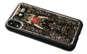 FLASH EVA01 iPhone XRケース 黒【東京回路線図ピンズをプレゼント】