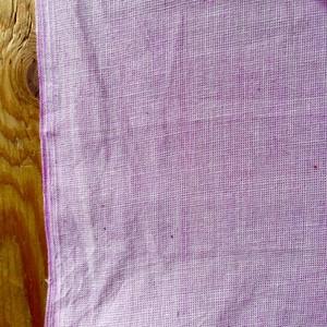 南インド手織りコットン シャンブレー  3種