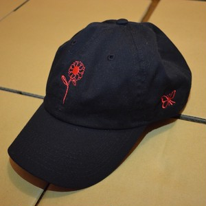 BUTTERFLY CAP BLACK/RED