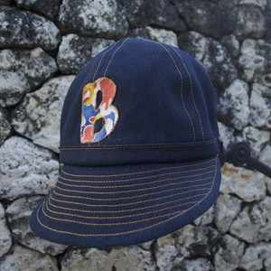 【BIN Okinawa】紅型LOGO CAP