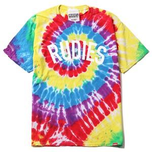 "RUDIE'S / ルーディーズ | "" PHAT DYED-T "" タイダイTee - RAINBOW"