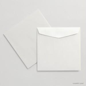 正方形封筒 ホワイト(カマス型)/10枚
