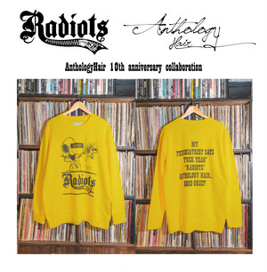 [予約] RADIOTS×AnthologyHair  L/S SWEAT / YELLOW...
