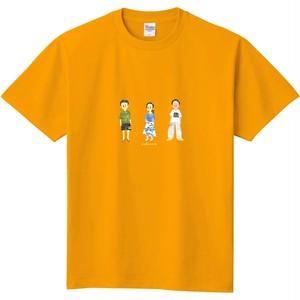 『チャーハン』Tシャツ(A)ゴールドイエロー