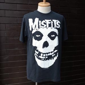 """""""THE MISFITS"""" Classic Field Skull T-Shirt  / [ミスフィッツ]  フィールドスカル ミュージック バンド Tシャツ"""