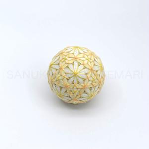 讃岐かがり手まり「七宝麻の葉」_MA004-1658