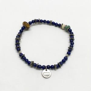 amp japan/Round Lapis Bracelet