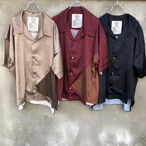 "elephant TRIBAL fabrics  ""out of alignment resort  shirt"""