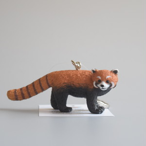 "Animal Keyring ""Red Panda"" アニマルキーリング ""レッサー パンダ"""