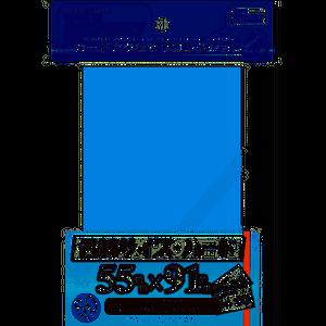 【スリーブ】名刺サイズ・ハード55*91mm 50枚 / HOBBY BASE