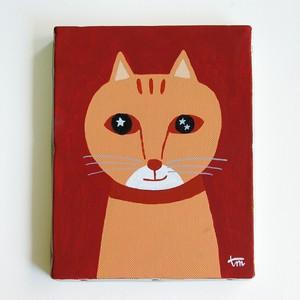 オリジナルアクリル画「猫」
