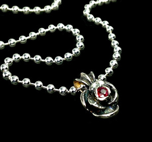 BALL CHAIN [ROSE] in collaboration with SUGIZO -Stone Setting- / スギゾーコラボレーションローズ 石留め加工