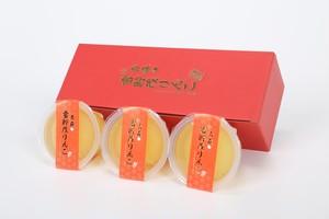 250g 3個セット 雪貯蔵りんごゼリー 【青森県つがる市産】