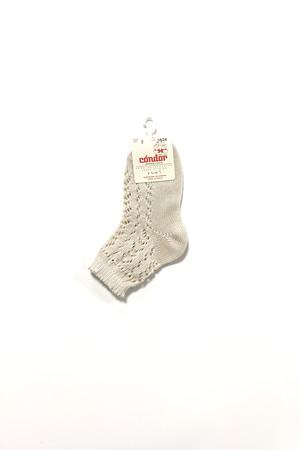 condor Pearl openworks short socks  baby