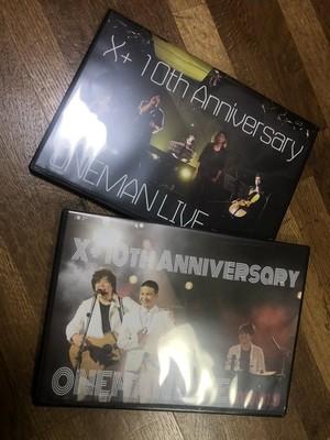 2018年8月19日X+結成10周年ワンマンライブ2枚セット購入用