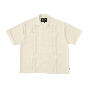 EXAMPLE CUBAN S/S SHIRT / OFF WHITE