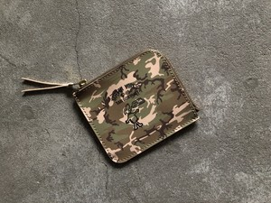 Button Works ボタンワークスCamouflage Wallet-Woodland
