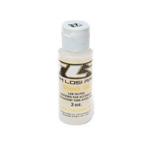 TLR74009 SILICONE SHOCK OIL, 37.5WT, 2 OZ