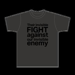 setten design × PEGA-PEGA Charity T-shirts dark gray