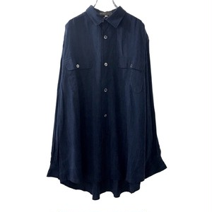 Y'S FOR MEN BIG SIZE SHIRT STRIPE PATTERN