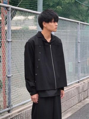 【SALE】LCDD ウールシャツジャケット Black