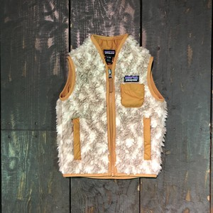 patagonia Baby Retro-X Vest 6-12M Field Geo Small:Pumice