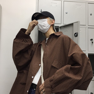 【tops】 シンプル無地スタンドネックシャツ22593905