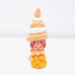 ソフトクリームちゃん(バニラ&オレンジ)