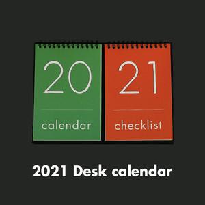 [OH,LOLLYDAY!] 2021 チェックリスト付き卓上カレンダー