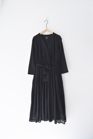 【maison de soil】 WRAP DRESS