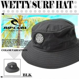 T01-906 リップカール キャップ オリジナル 新作 メンズ 帽子 ブラック 黒 WETTY SURF HAT RIP CURL