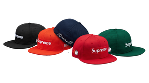 Supreme X New Era Mesh Box Logo Cap