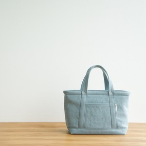 CANVAS TOTE FS / ICE GRAY