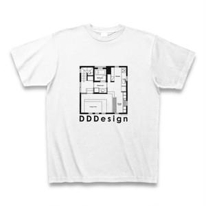 DDDesignオリジナルTシャツ-02(ホワイト)