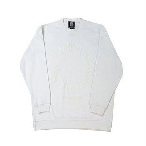 【HYPOCRITE】3D HYU STUMP CREWNECKSWEAT  WHITE