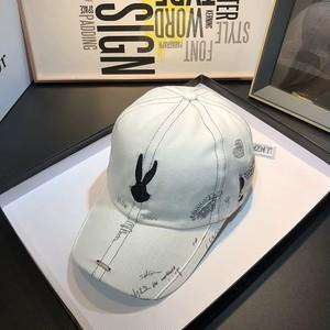 rabbit graffiti cap