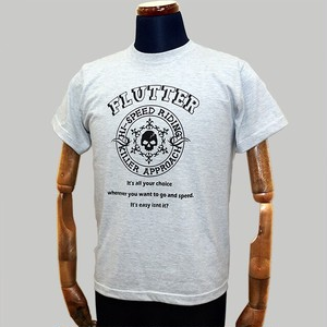 Flutter Hi-SPEED RIDING T-shirts アッシュ T-02